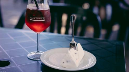 Campari Spritz and Icecream in Palermo