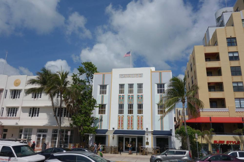 Art Deco Historic Area Miami